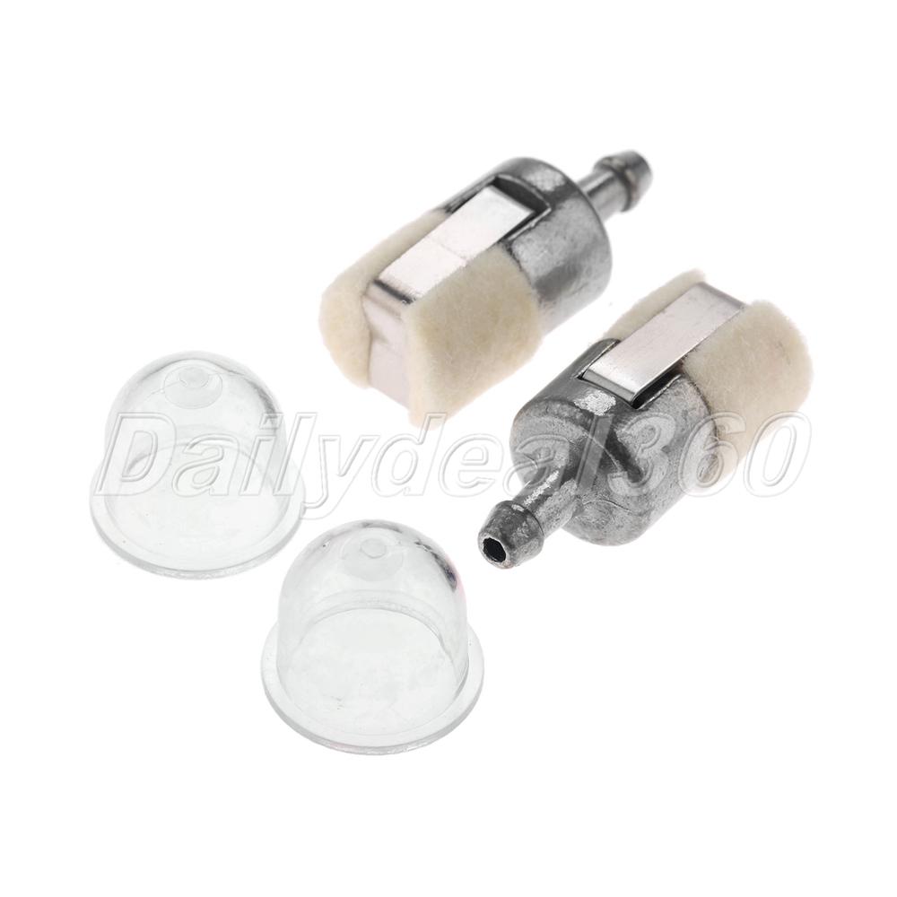Kraftstofffilterleitung Primer Bulb Schlauchrohr Kit Für Kettensäge Zubehör DE
